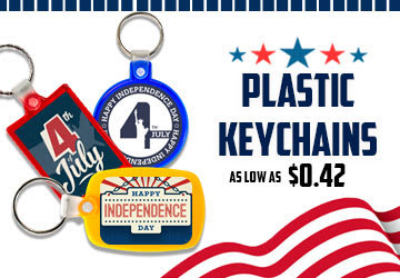 Personalize Plastic Keychains