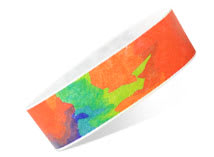 image regarding Printable Wristbands for Events titled Tyvek Wristbands Paper Wristbands Occasion Wristbands Group