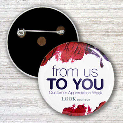 Custom Pin Buttons Design Ideas
