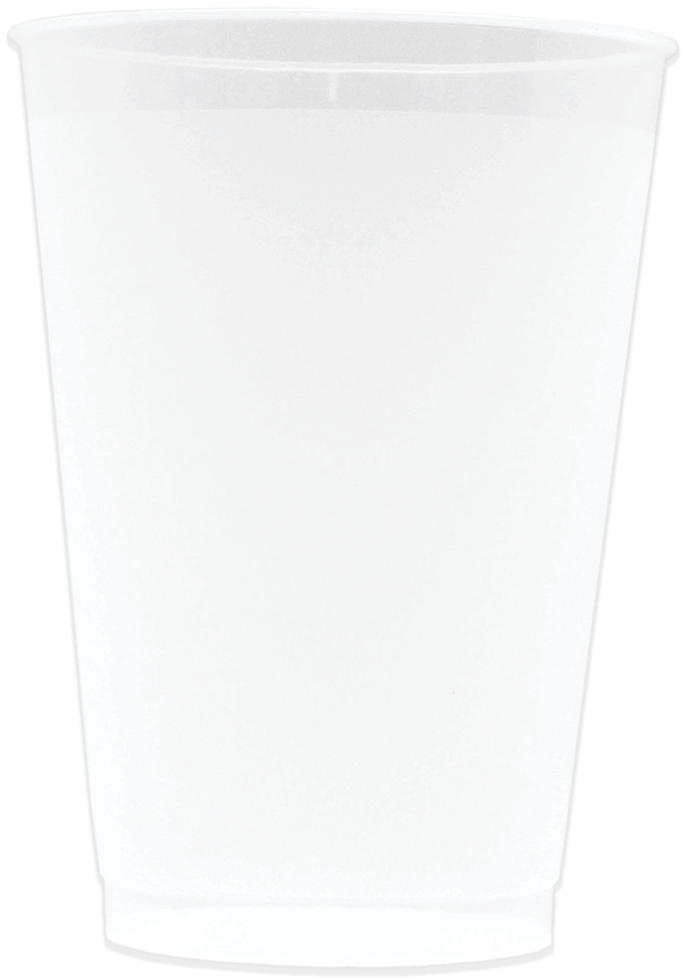 12oz Frosted Stadium Cups