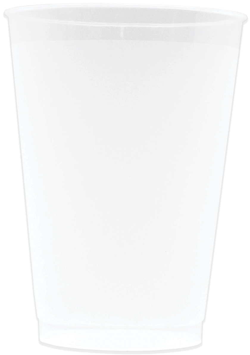 16oz Frosted Stadium Cups