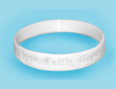 Love Faith Hope Wristbands