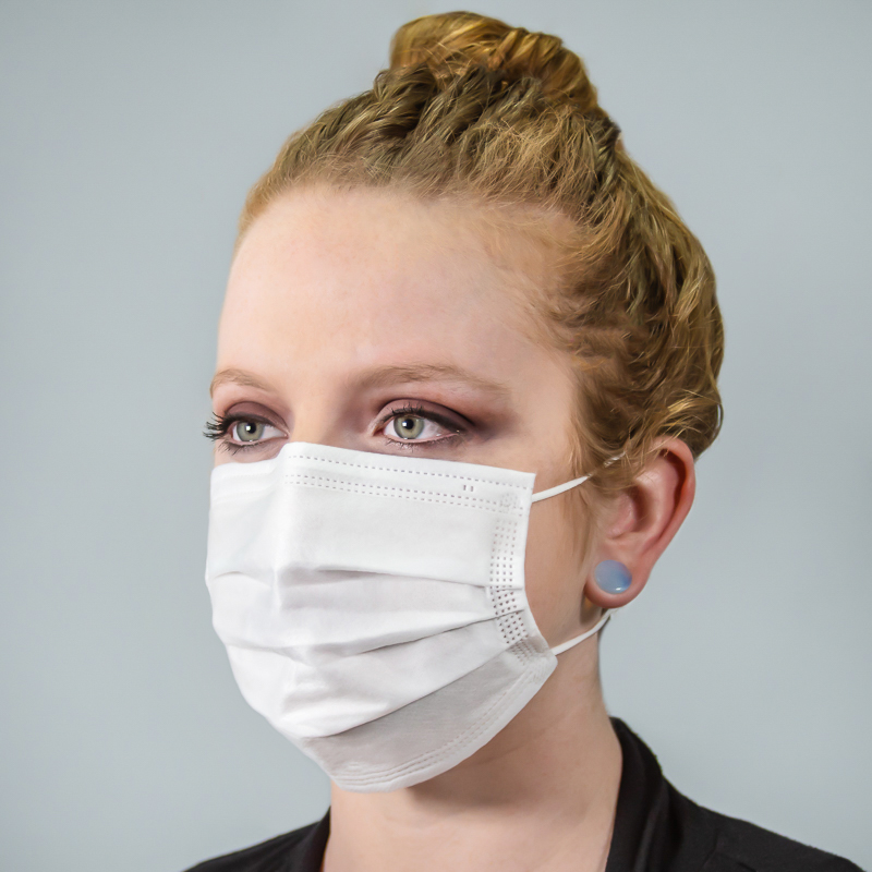 4-Ply Disposable Face Masks