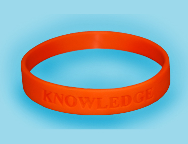 Knowledge Wristbands