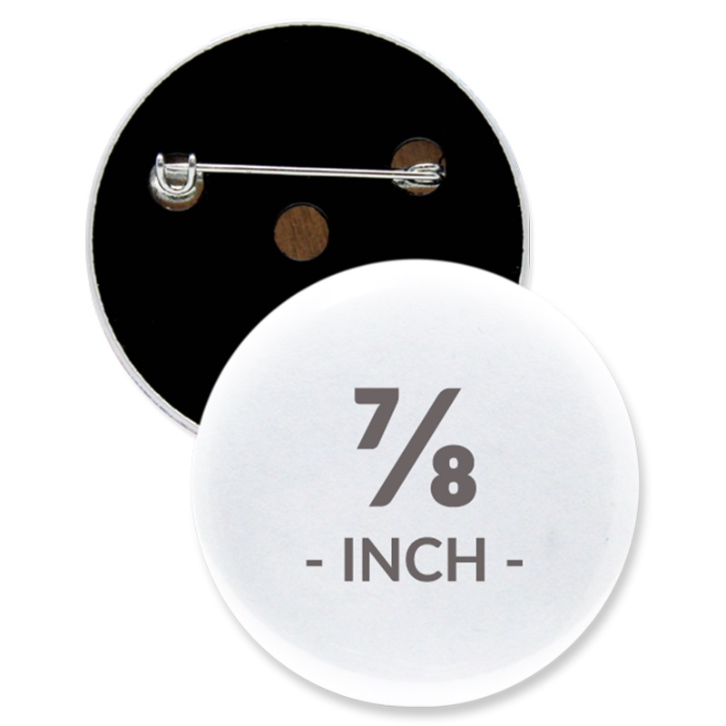 7/8 Inch Round Custom Buttons