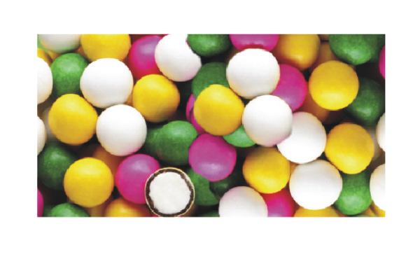 Assorted Pastel Chocolate Mints In Stock Wrappers