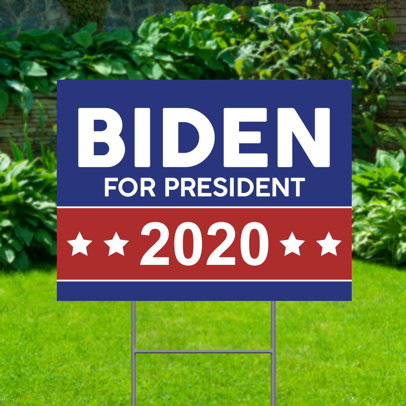 Biden For President 2020 Political Yard Signs