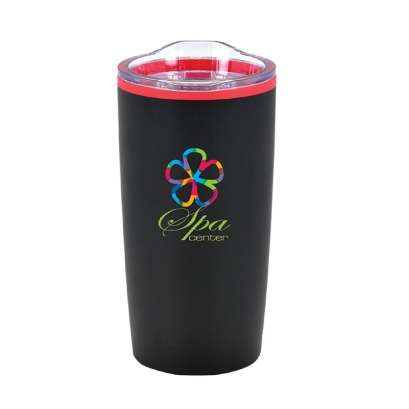 Color Splash Economy 20 Oz Stainless Steel Tumblers - Full Color