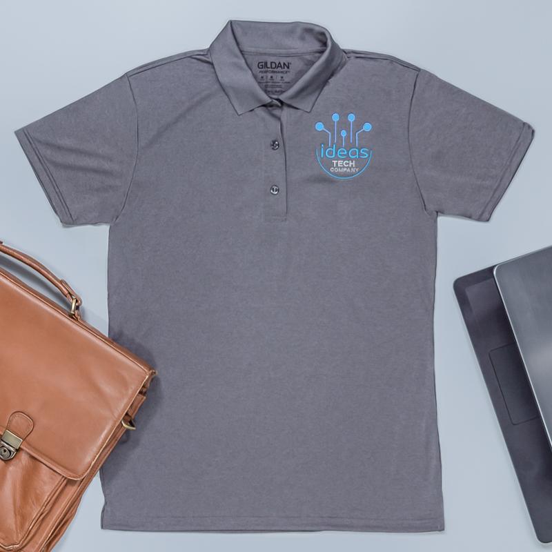 Custom Embroidered Gildan Performance® Adult Jersey Polo