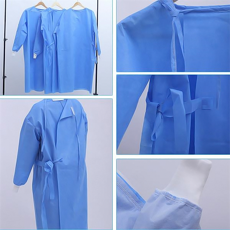 DISPOSABLE GOWN - 40 GSM