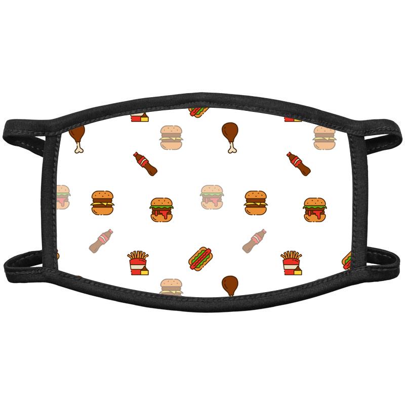 Fast Food Face Masks
