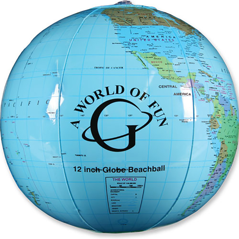 Globe Beach Ball - 16