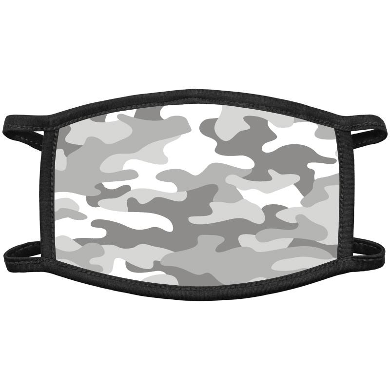 Grey Camo Face Masks