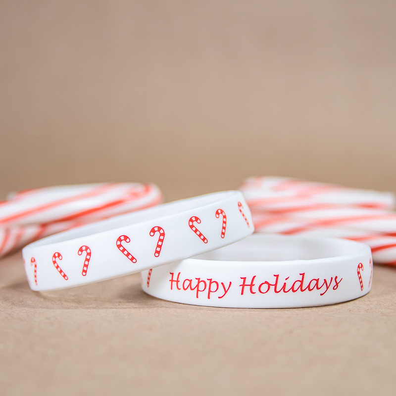 Happy Holidays Wristband
