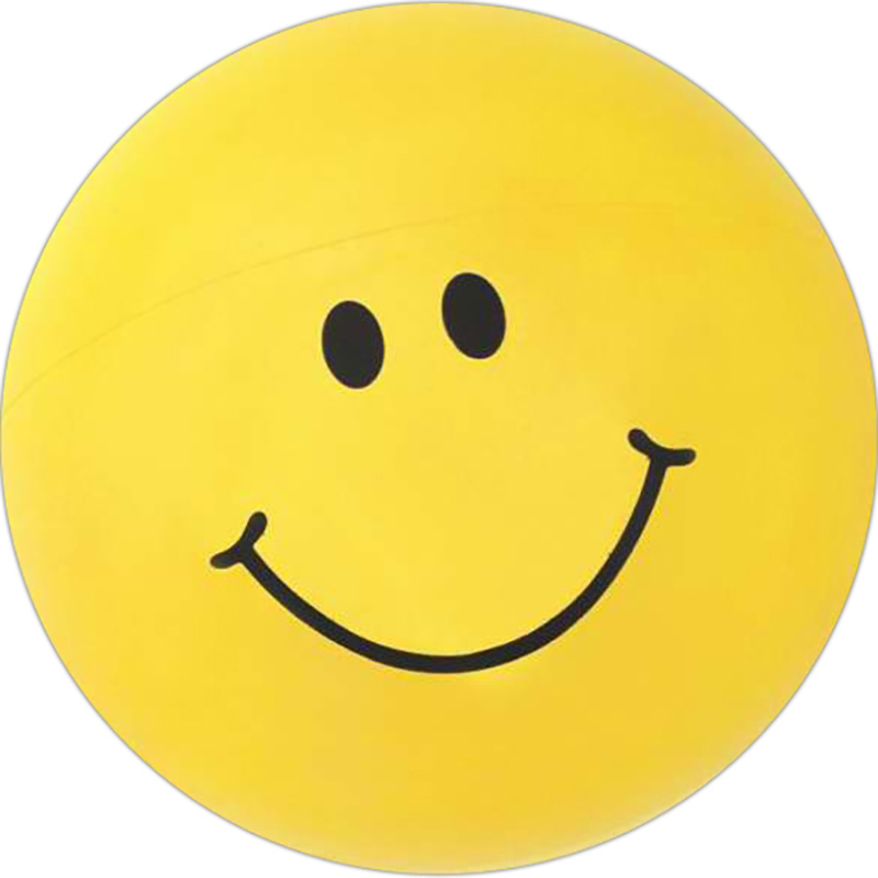 Inflatable Smiley Face Beach Ball - 16