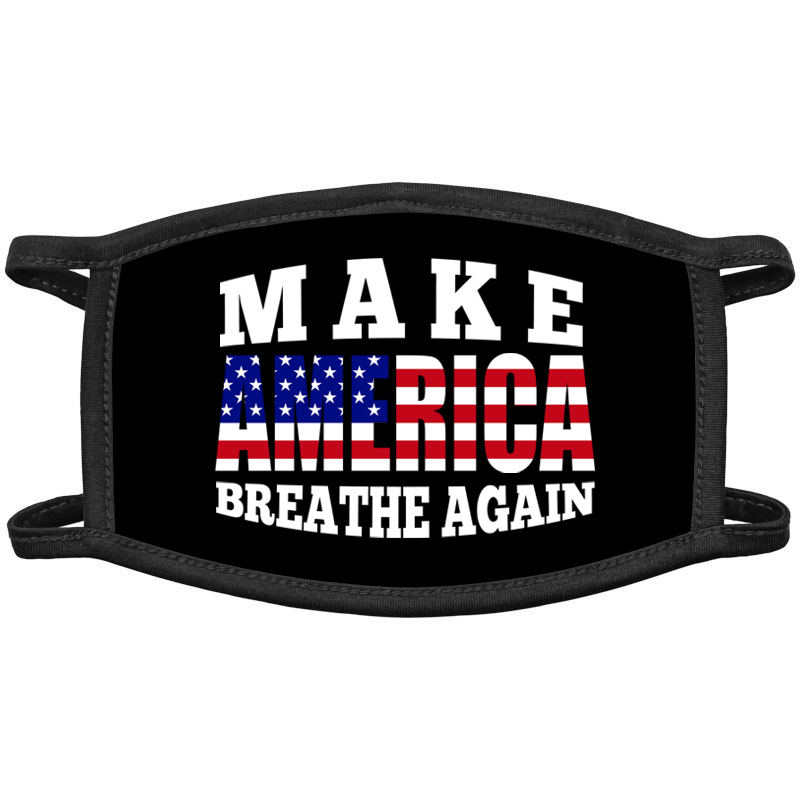 Make America Breathe Again Face Masks
