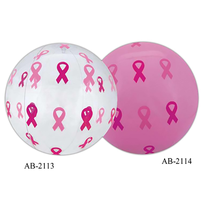 Pink Ribbon Beach Ball