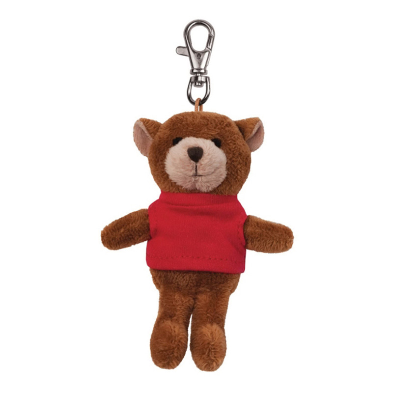 Plush Wild Bunch Key Tags- Bear