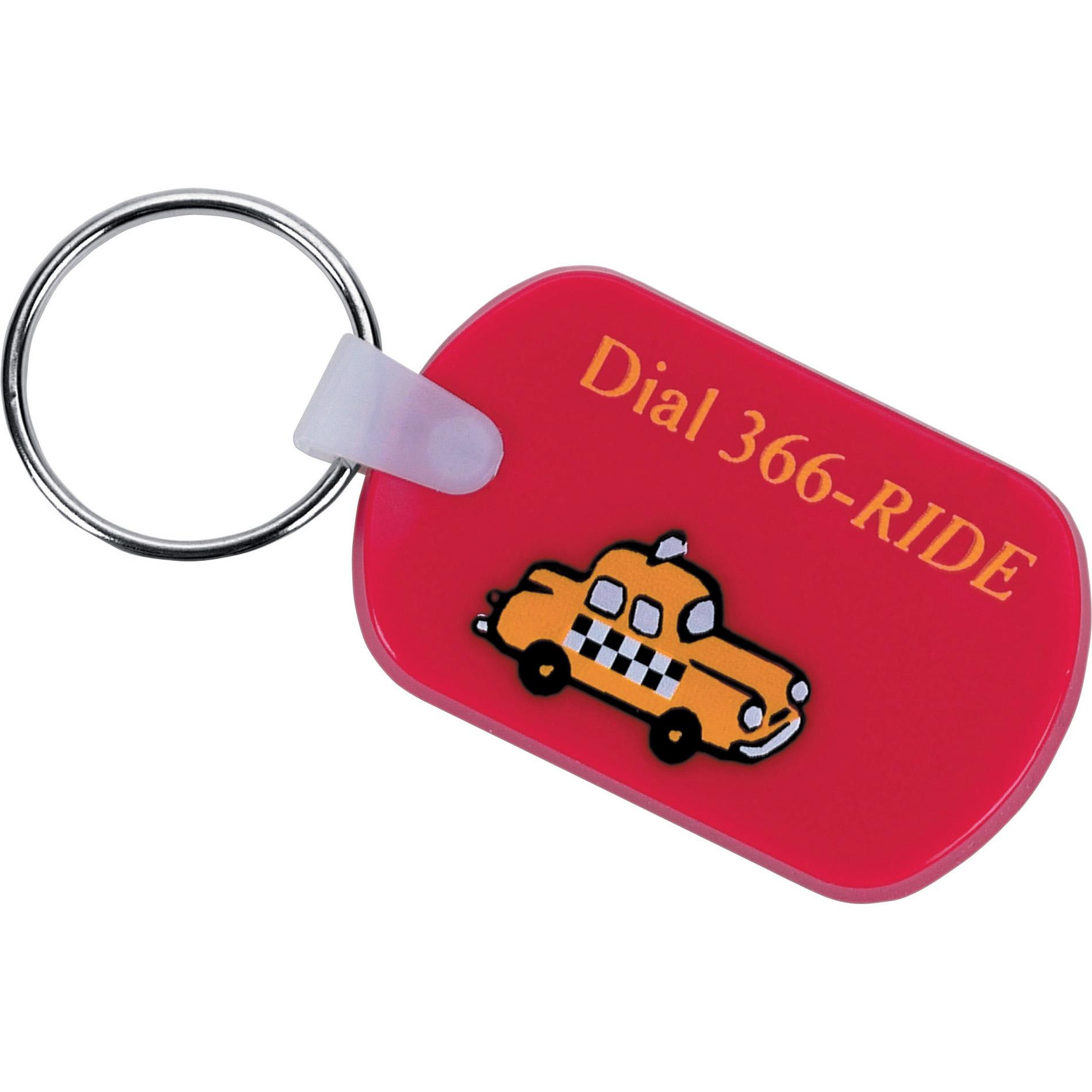 Rectangular Soft Key Tag
