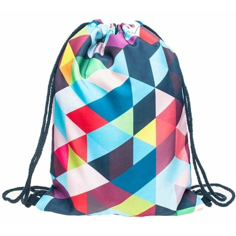 Rush Full Color Drawstring Backpack Sports Bags