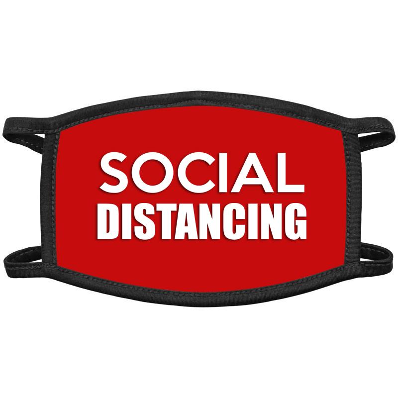 Social Distancing Face Masks