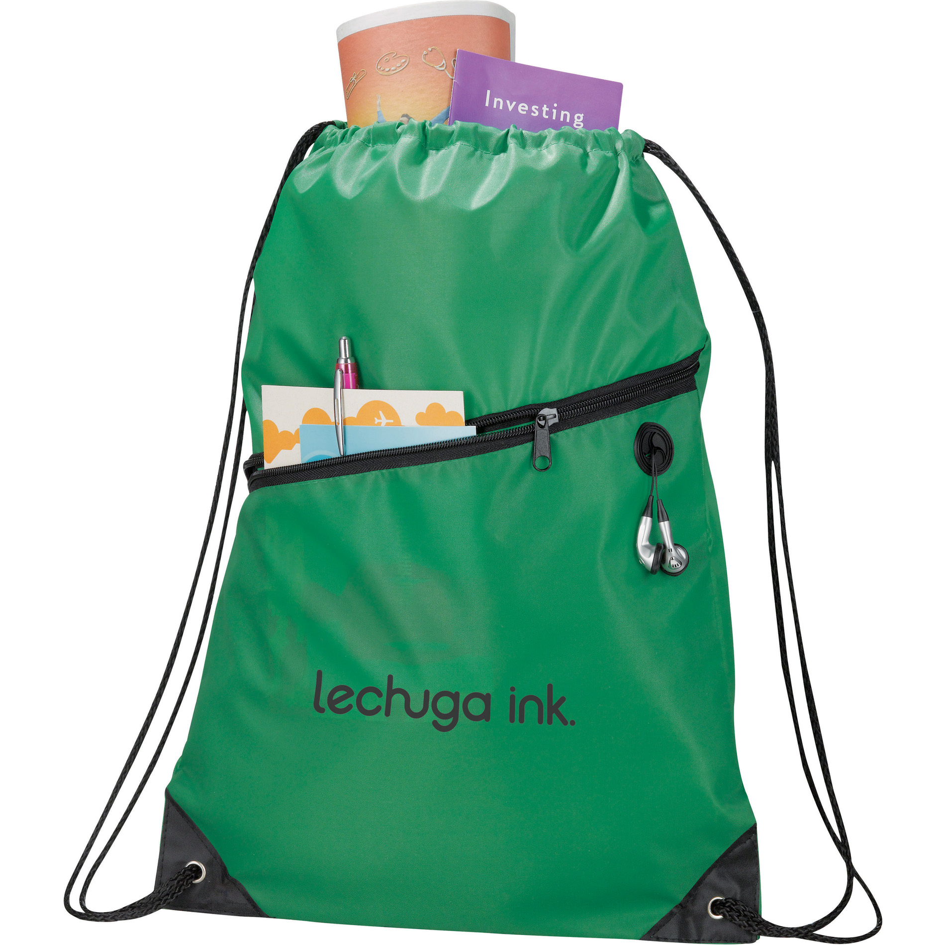 The Robin Drawstring Cinch Backpack