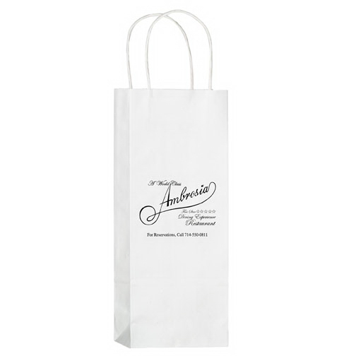 Wine White Bag