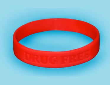 Drug Free Wristbands