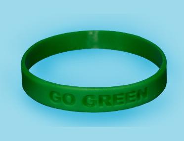 Go Green Wristbands