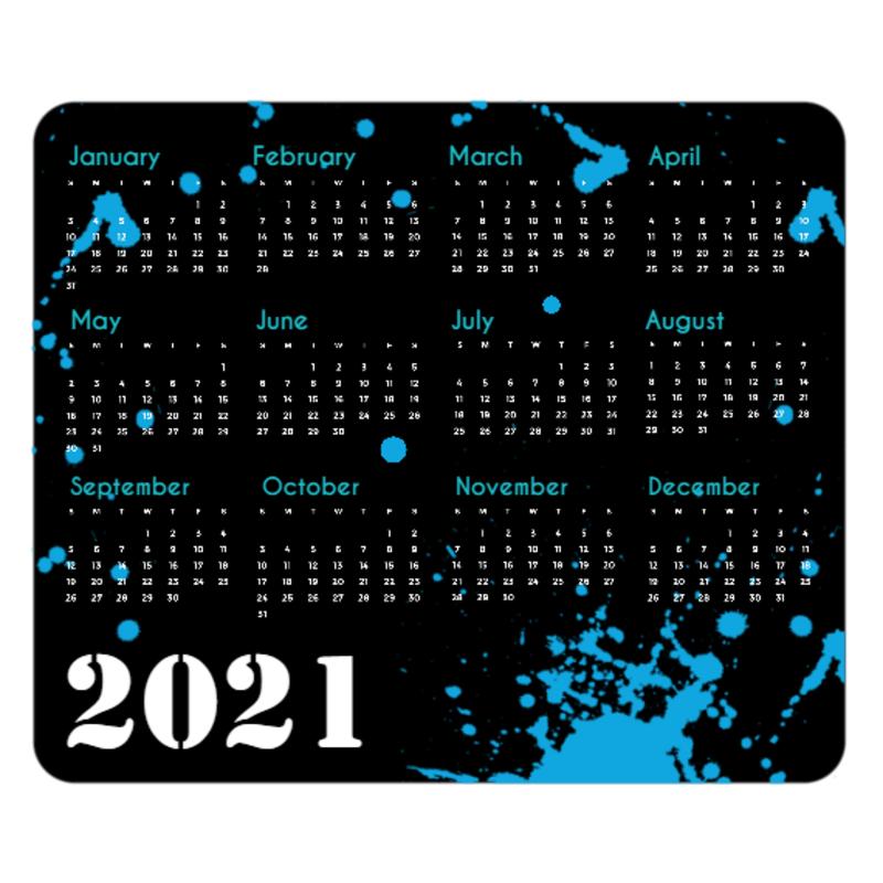 Full Color 2021 Calendar Rectangle Mouse Pads | Calendars