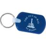 Blue - Key, Key Tag, Tag, Rectangular