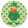 St. Patrick's Day #116921 - Custom Coasters, Beverage Coasters, Cheap Coasters, Promotional Coasters