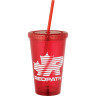 Red Tumbler - 16 oz. - Tumbler, Tumblers, Coffee, Flask, Coffee Bottle, Coffee Bottles, Drink, Drinks, Mug, Thermos, Thermoses, Coffee Heater, Coffee Warmer, Coffee Cooler, Iced Coffee, Ice Coffee, Ice Tea, Iced Tea