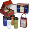 On-The-Go Cocoa Set - Food Gifts-hot Chocolate; Gift Baskets & Sets; Travel Mugs/cups