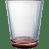 Red - Shot Glass, Shot Glasses, Bar, Barwear, Barware, Barwares, Alcohol, Shot