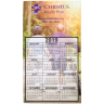 Full Color Calendar Magnet -