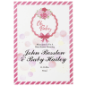 Custom Full Color 5 x 7 Inch Invitation Cards - Baby Shower -