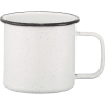 12 - Custom Enamel Metal Mugs, Mugs, Enamel Mugs, Enamel Metal Mugs, Metal Mugs, Drink Ware,custom Mugs, Speckled