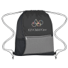 1 - Black  - Backpacks; Bags-drawstring