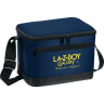 Navy Blue - Cooler, Coolers, Lunch, Lunch Bag, 6 Pack, Insulated, Bag