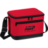 Red - Cooler, Coolers, Lunch, Lunch Bag, 6 Pack, Insulated, Bag