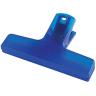 Translucent Blue - Utility Clip, Utility Clips, Clip, Clips, Bag Clip, Bag Clips, Chip Bag Clip, Coupon Clip, Coupon Clips, Sealer, Office, Paper Clip, Paper Clips, Cereal Bag Clip, Cereal Bag Clips