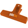 1_Translucent Orange - Utility Clip, Utility Clips, Clip, Clips, Bag Clip, Bag Clips, Chip Bag Clip, Coupon Clip, Coupon Clips, Sealer, Office, Paper Clip, Paper Clips, Cereal Bag Clip, Cereal Bag Clips
