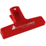1_Translucent Red - Utility Clip, Utility Clips, Clip, Clips, Bag Clip, Bag Clips, Chip Bag Clip, Coupon Clip, Coupon Clips, Sealer, Office, Paper Clip, Paper Clips, Cereal Bag Clip, Cereal Bag Clips