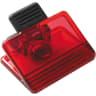 Translucent Red - Magnet, Magnets, Memo Holder, Memo Holders, Fridge Magnet, Fridge Magnets, Memo Magnet, Memo Magnets