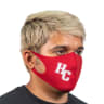 1_Screen Printed Soft Fabric Reusable Face Masks