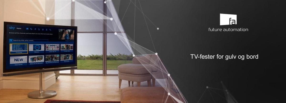 FUTURE AUTOMATION TV-fester for gulv og bord