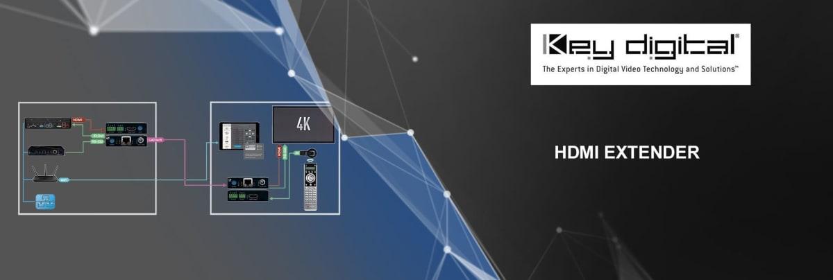 Key Digital HDMI extender