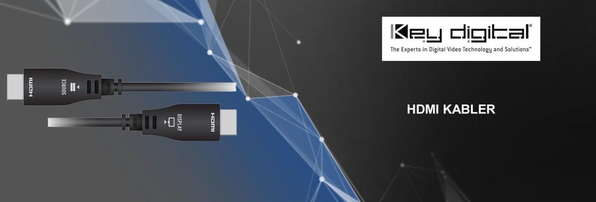 Key Digital HDMI-kabler