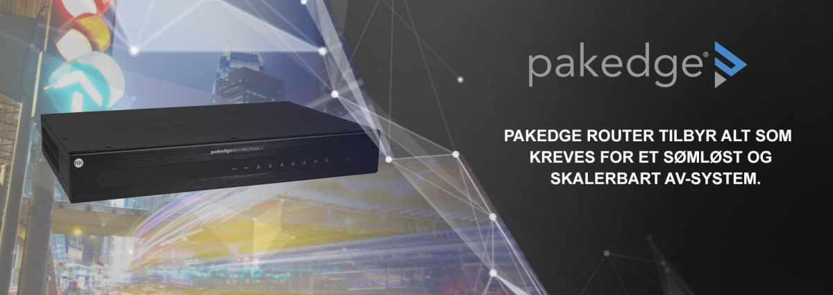 PAKEDGE Routers